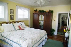 View of Bedroom in Bed & Breakfast